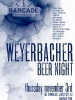 Weyerbacher Night — November 3, 2011