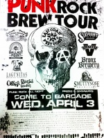 Punk Rock Brew Tour — April 3, 2013