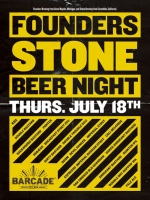 Founders / Stone Night — July 18, 2013