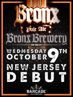 Bronx Brewery NJ Debut – October 9, 2013