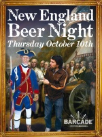New England Beer Night — October 10, 2013