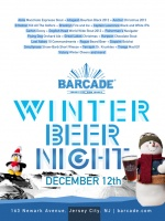 Winter Beer Night — December 12, 2013