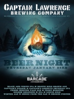 Captain Lawrence Brewing Night — January 23, 2014