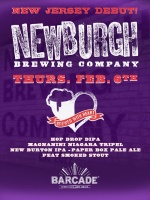Newburgh Brewing Launch — February 6, 2014 at Barcade® in Jersey City, NJ