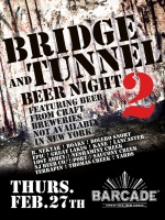 Bridge And Tunnel Night — February 27, 2014 at Barcade® in Jersey City, NJ
