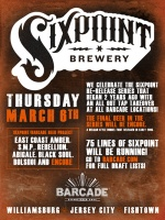 Sixpoint Project Finale — March 6th, 2014 at Barcade® in Jersey City, NJ