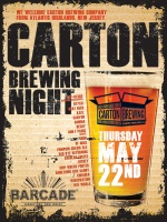Carton Brewing Night — May 22, 2014