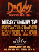 DuClaw Brewing Co. Night — November 20th, 2014