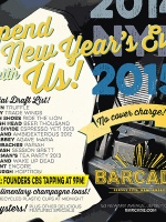 Barcade® New Year's Eve Party in Jersey City 2014