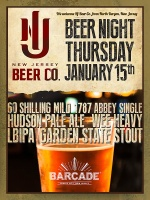 New Jersey Beer Co. Night — January 15, 2015
