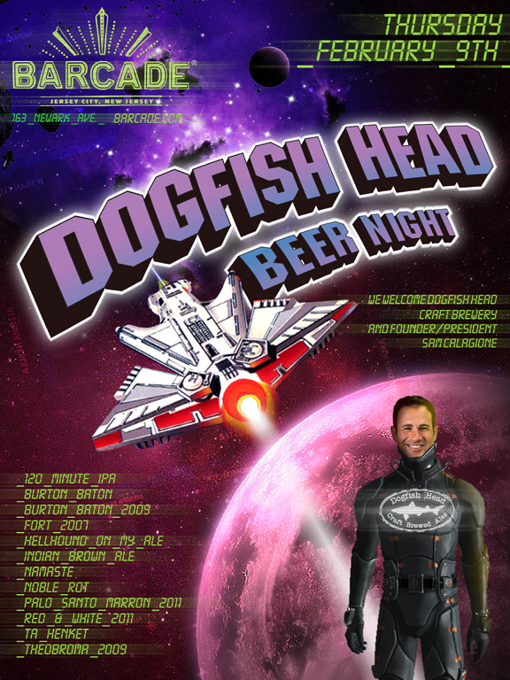 DogfishHeadNight02.09.12 Beer Events Galore