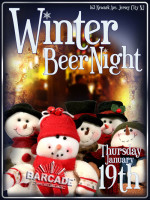 Winter Beer Night — January 19, 2012