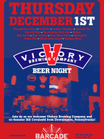 Victory Brewing Night — December 1, 2011