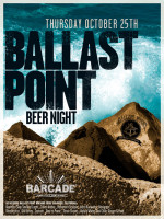 Ballast Point Brewing Night — October, 25, 2012