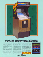 Frogger — 1981 at Barcade® in Jersey City, NJ