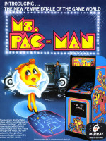 Ms. Pac-Man — 1981 at Barcade® in Jersey City, NJ