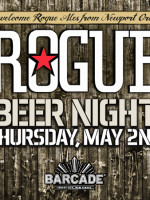 Rogue Brewery Night — May 2, 2013 at Barcade® in Jersey City, NJ