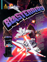 Blasteroids — 1987 at Barcade® in Jersey City, NJ