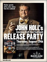 John Holl - Book Party – August 29, 2013 @ Barcade® in Jersey City, NJ