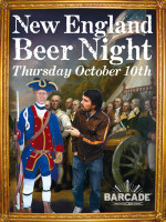 New England Beer Night — October 10, 2013 at Barcade® in Jersey City, NJ