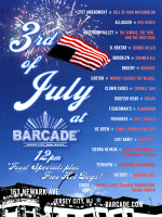 Third of July Celebration — July 3, 2014 at Barcade® in Jersey City