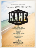 Kane Brewing Company Night — September 25, 2014 at Barcade® in Jersey City, NJ