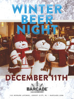 Winter Beer Night — December 11, 2014 at Barcade® in Jersey City, NJ
