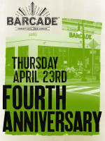 Barcade - Jersey City 4th Anniversary Party — April 23, 2015