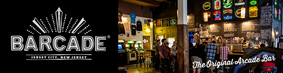 Barcade® | 163 Newark Avenue, Jersey City, NJ 07302 | 201-332-4555