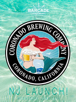 Coronado Brewing Company NJ Launch — June 24th, 2015 at Barcade® in Jersey City, NJ
