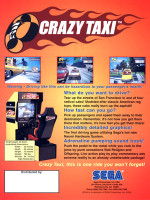 Crazy Taxi — 1999 at Barcade® in Jersey City, NJ