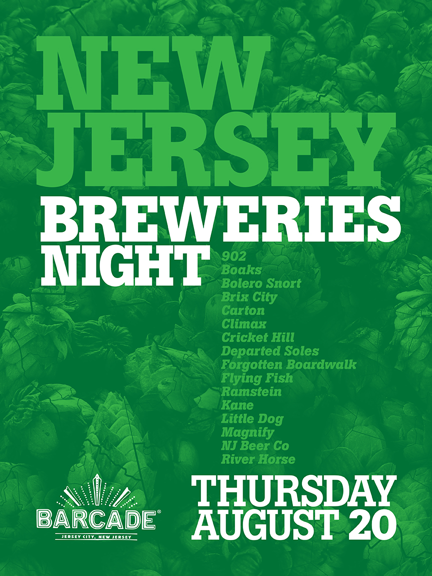 New Jersey Breweries Night