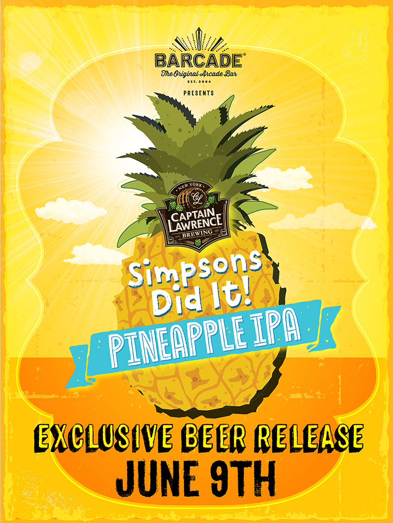 Exclusive Beer Launch: CAPTAIN LAWRENCE SIMPSONS DID IT! IPA!!!