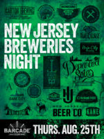 New Jersey Breweries Night — August 25, 2016 at Barcade® in Jersey City, New Jersey
