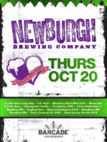 Newburgh Brewing Co. Night — October 20, 2016 at Barcade® in Jersey City, NJ