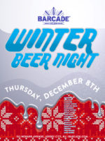 Winter Beer Night — December 8, 2016 at Barcade® in Jersey City, NJ