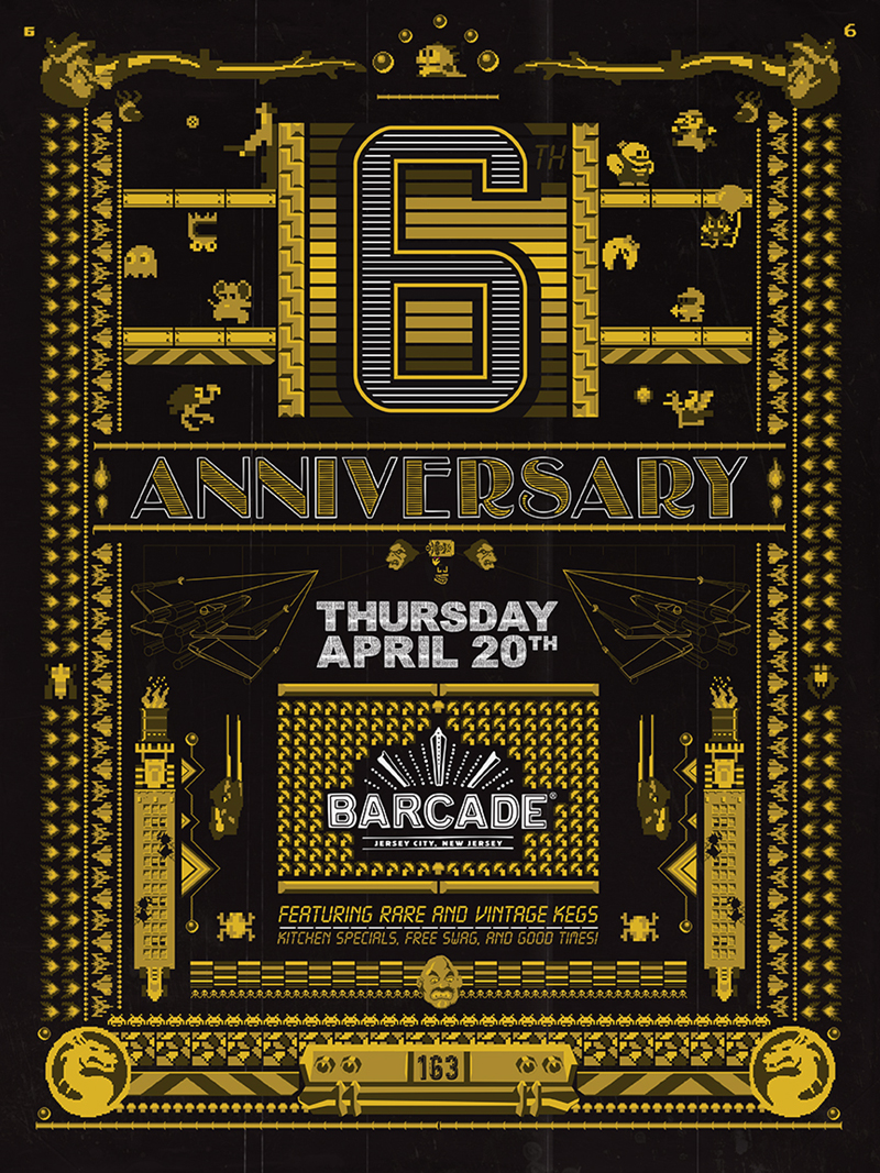Barcade Jersey City's 6th Anniversary Party!!!
