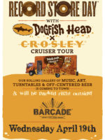 Dogfish Head and Crosely Cruiser Tour Celebrate Record Store Day — April 19th, 2017 at Barcade® in Jersey City, NJ
