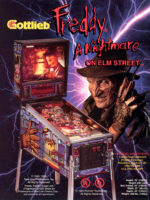 Freddy: A Nightmare On Elm Street (pinball) — 1994 at Barcade® in Jersey City, New Jersey