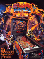 Medieval Madness (pinball) — 1997 at Barcade® in Jersey City, New Jersey
