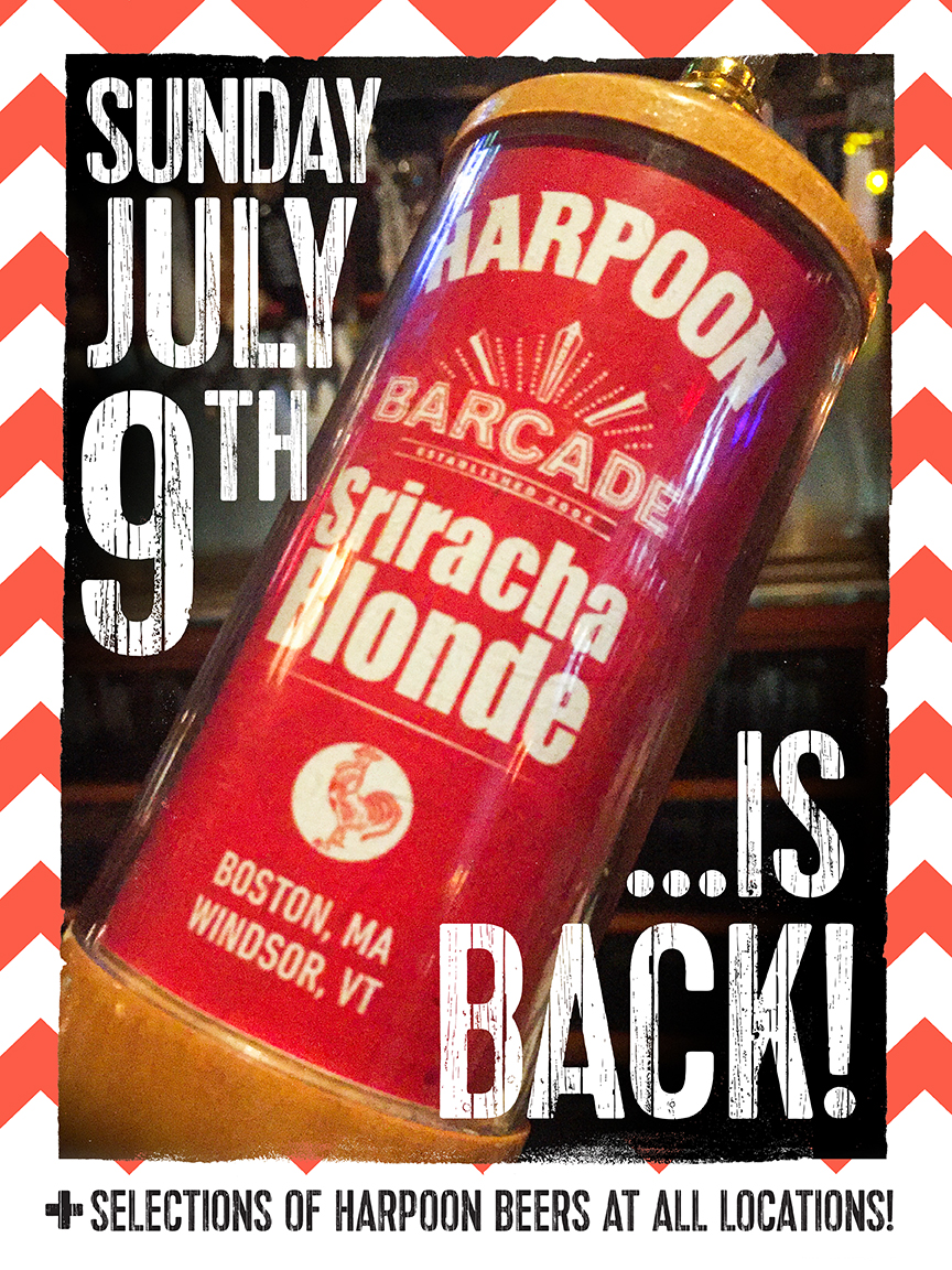 Harpoon Sriracha Blonde: The Return