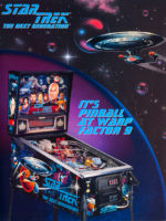 Star Trek: The Next Generation (pinball) — 1993 at Barcade® in Jersey City, New Jersey