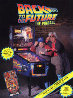 Back to the Future (pinball) — 1990 at Barcade® in Jersey City, NJ