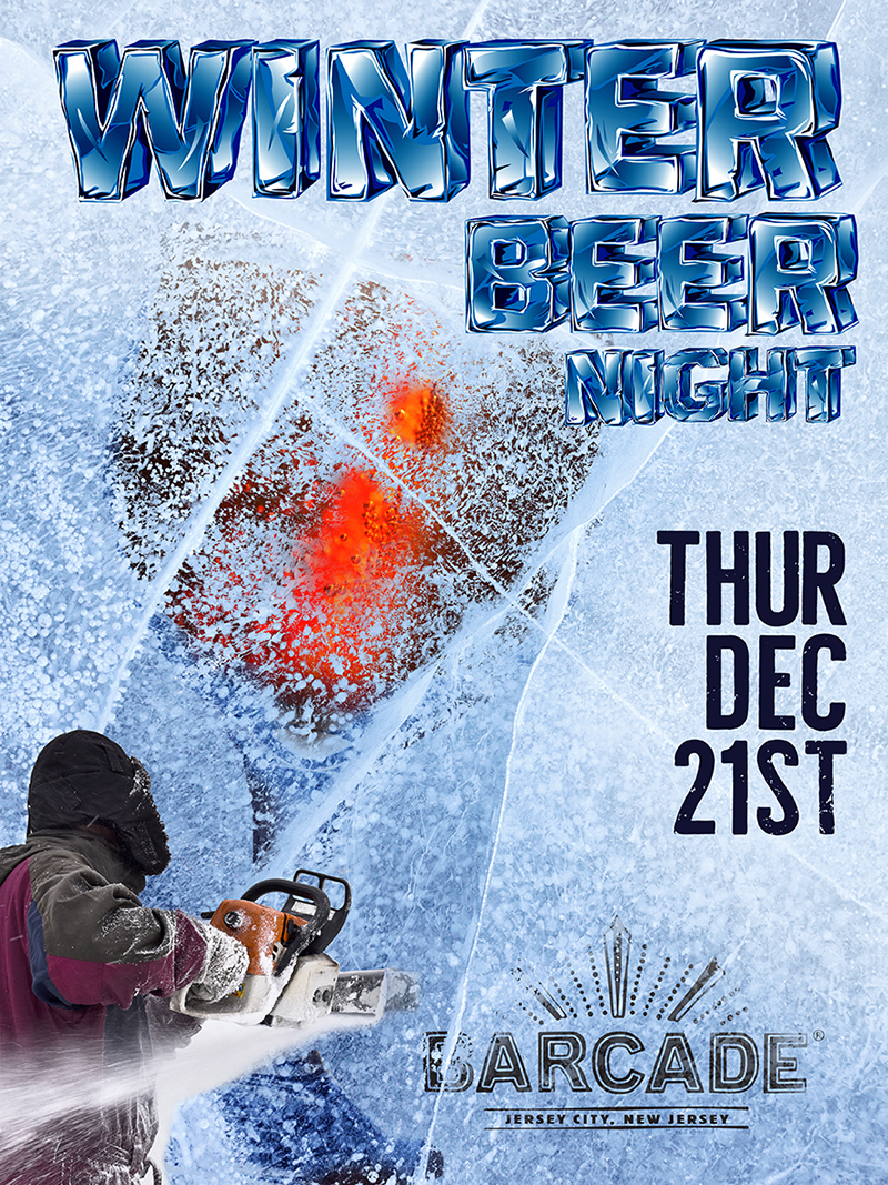 Winter Beer Night — December 21, 2017 at Barcade® in Jersey City, New Jersey