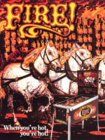 Fire! (pinball) — 1987 at Barcade® in Jersey City, NJ