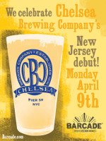 Chelsea Brewery New Jersey Debut — April 9, 2012