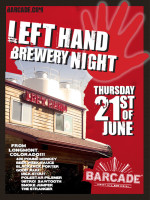 Left Hand Brewery Night — June 21, 2012