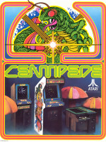 Centipede — 1981 at Barcade® in Jersey City, NJ
