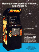 Defender — 1981 at Barcade® in Jersey City, NJ | arcade video game flyer graphic