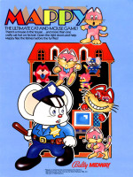 Mappy — 1983 at Barcade® in Jersey City, NJ